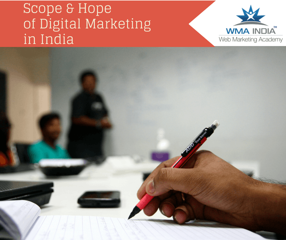 Growth opportunities for Digital Marketing in India