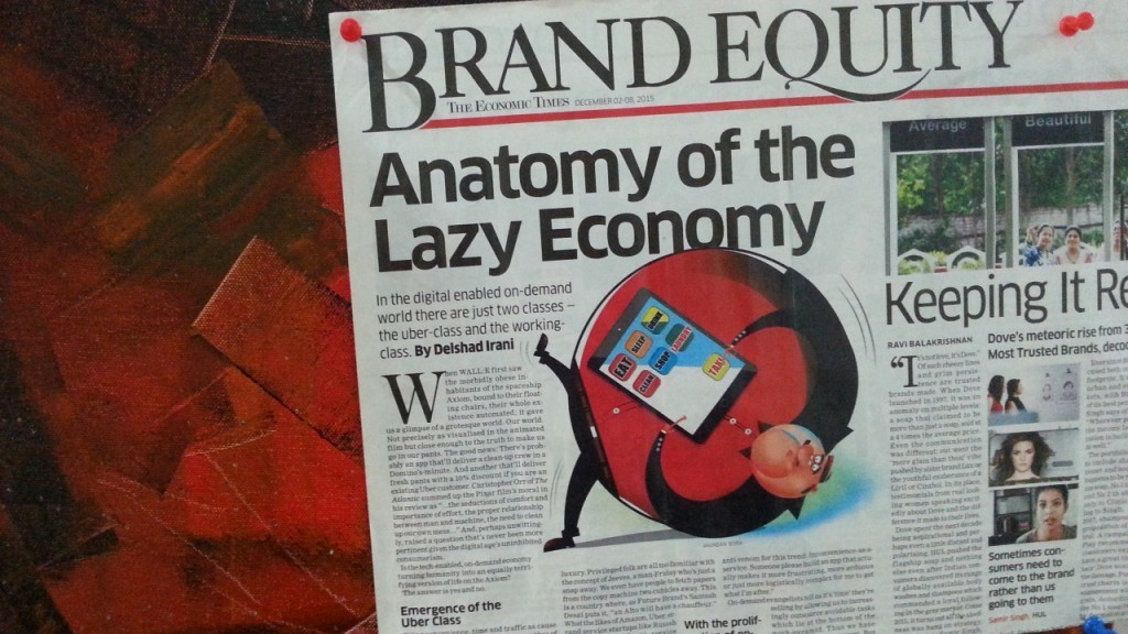 Anatomy of a lazy economy - ecommerce