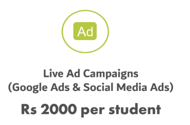 WMA Digital Marketing Fees includes Live Ad Campaigns